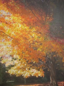 Beautiful Fall Foliage Painted by Laurie Lane