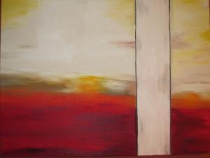 Sunset Divide Oil on Canvas