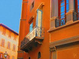 Vibrant Italian Exterior